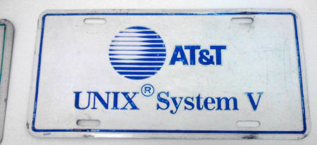 System V developed by AT&T